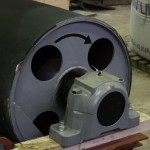 Rubber pulley vulcanization