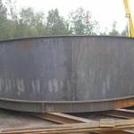 Mild steel silo