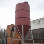 Small silo