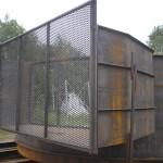 Mild steel silo assembley