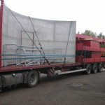 Mild and Stainless steel silo delivery