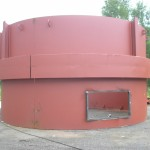 Furnace for biopower plant
