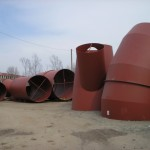 Ducts for cement plant