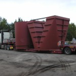 Oversize ducts delivery