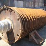 Hammer mill rotor before