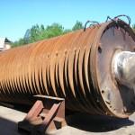 hammer crusher rotor before