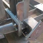 rake frame assembly